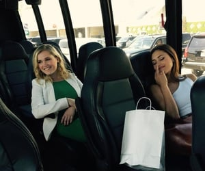 eliza taylor and lindsey morgan image