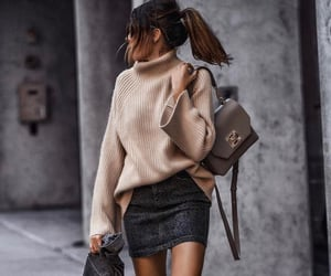 autumn, casual, and look image