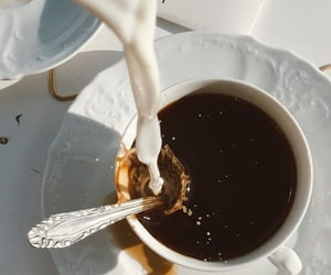 americano, beverages, and coffee image