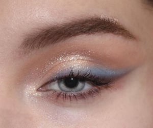 eye, eyeshadow, and girl image