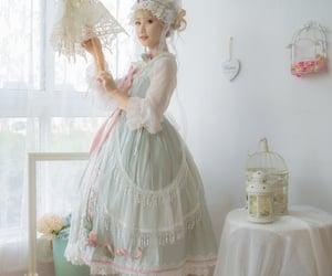dress, kawaii, and ribbon image