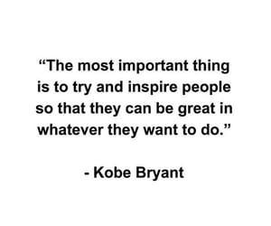 empowerment, goals, and kobe bryant image