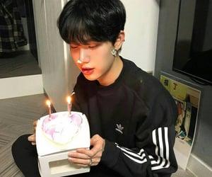 boy, cake, and korean image