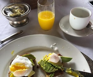 food, avocado, and eggs image