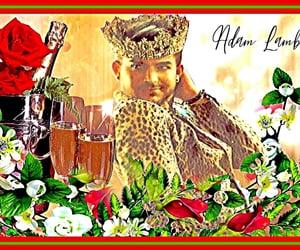 adam lambert, art, and wallpaper image