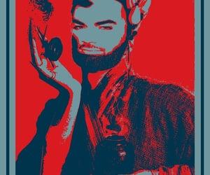 adam lambert, art, and pop art image