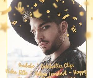 adam lambert, birthday, and happy birthday image