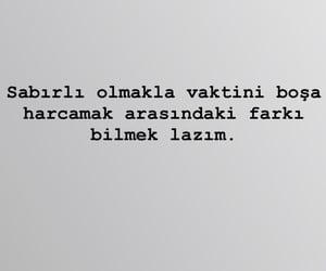 yazı, sabır, and türkçe image