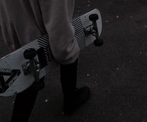 skateboard, aesthetic, and grunge image