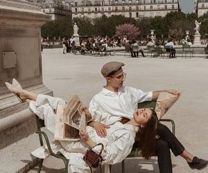 aesthetic, beige, and couple image