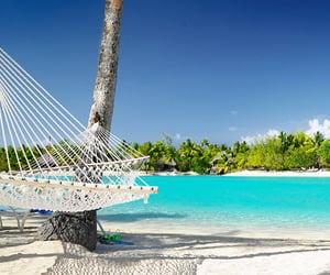 beaches, paradise, and tropics image