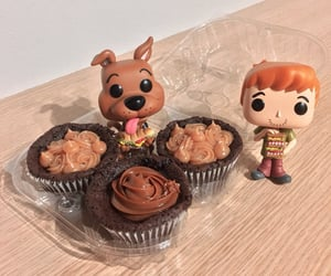cake, cupcake, and scooby doo image