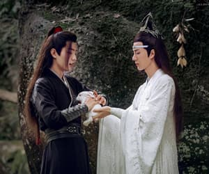 the untamed, wei wuxian, and lan wangji image