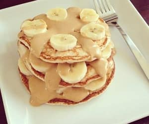 banana, breakfast, and chocolate image