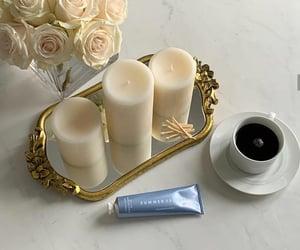coffee, skincare, and white image
