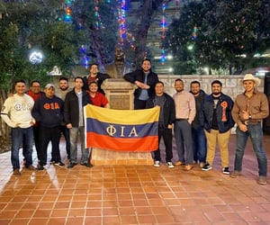 San Antonio, fraternity, and Texas image