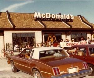 vintage, McDonalds, and car image