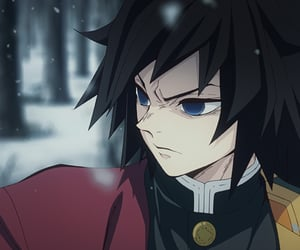 anime, kimetsu no yaiba, and anime boy image