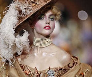 dior, fashion, and Sasha Pivovarova image
