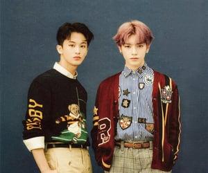 taeyong, johnny, and mark image