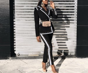 chic, high, and streetstyle image