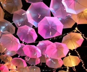 umbrella, aesthetic, and colorful image