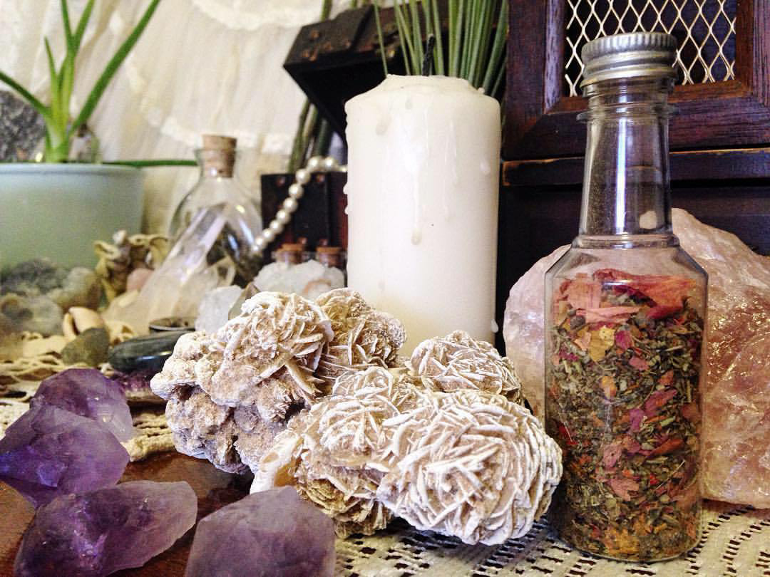 article, flowers, and witchcraft image