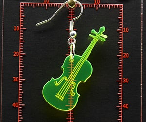 etsy, musical instrument, and handmade jewellery image