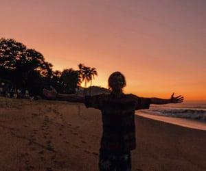 aesthetic, beach, and boy image
