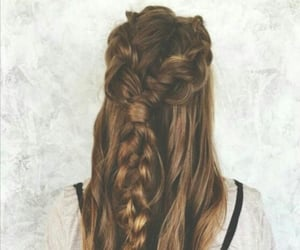 cheveux, inspiration, and tresses image