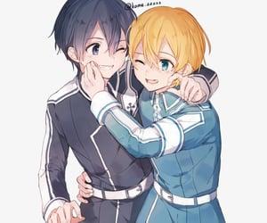 anime, SAO, and kirigaya kazuto image