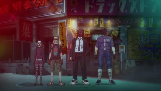 anime, dorohedoro, and netflix image