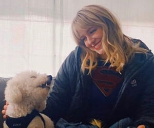 puppy, Supergirl, and best girl image