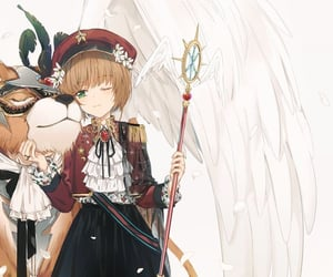 anime, card captor sakura, and couple image