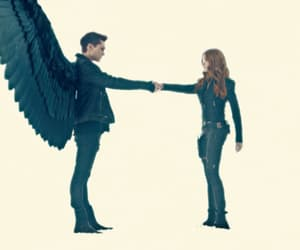 actress, clary fray, and jonathan morgenstern image