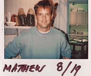 chandler bing, friends, and Matthew Perry image