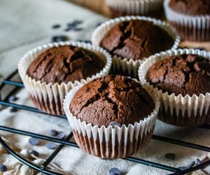 choco, chocolate, and chocolate cake image