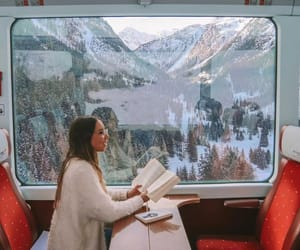 fashion, snow, and pretty image