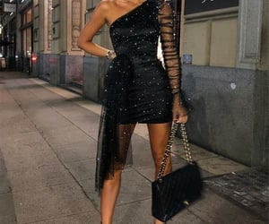 dress, sequin dress, and societyofchic image