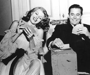 black and white, Gilda, and photography image