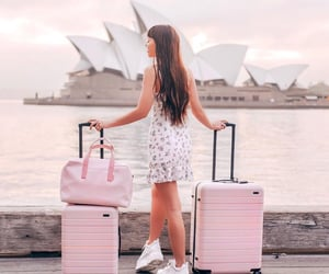 aesthetic, australia, and light pink image