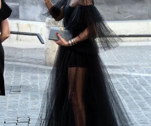black, elegant, and tumblr image