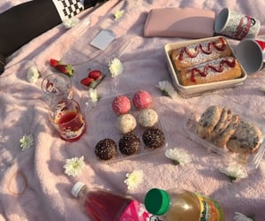 picnic, soft, and aesthetic image
