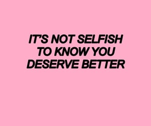 quotes, pink, and self love image