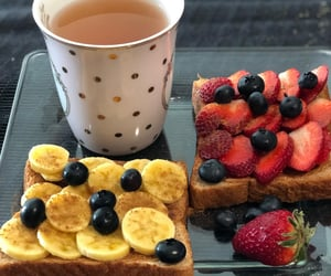 bananas, berry, and bread image