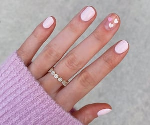 nails, beauty, and love image