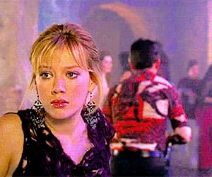gif, disney channel, and Hilary Duff image