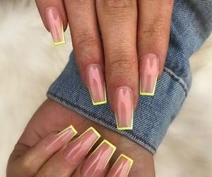 acrylics, nail, and neon image