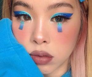 blush, eyelashes, and highlight image