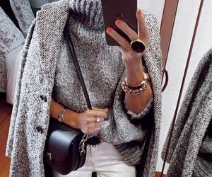 coats, sweather, and winter fashion image